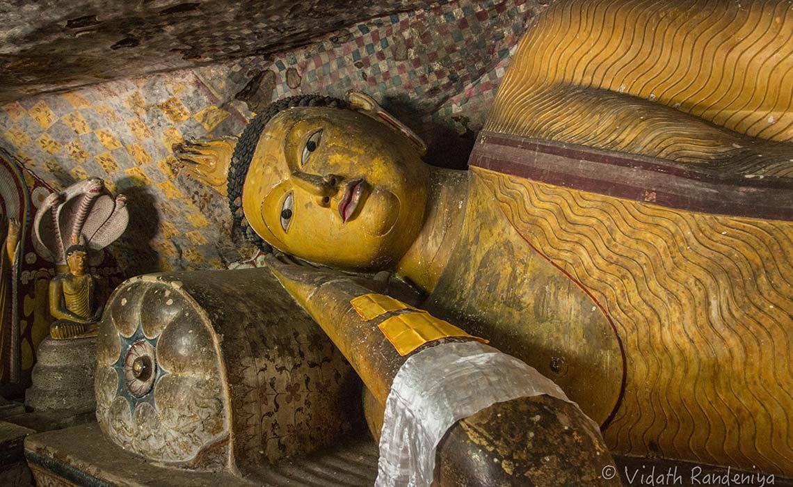 第2石窟の仏像